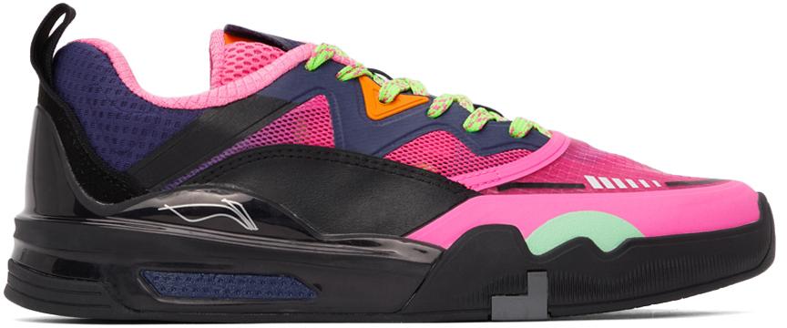 Pink & Black Erik Ellington Edition Ellington Pro Sneakers
