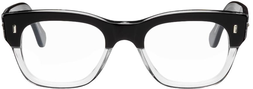 Black & Transparent 0772 Glasses
