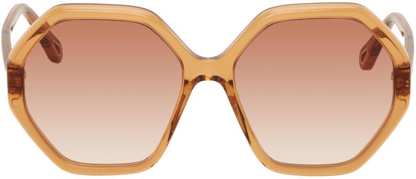 Orange Esther Sunglasses