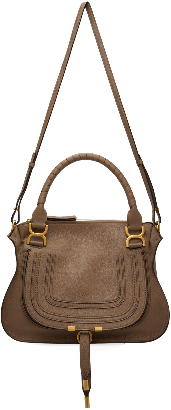 Taupe Marcie Hand Bag