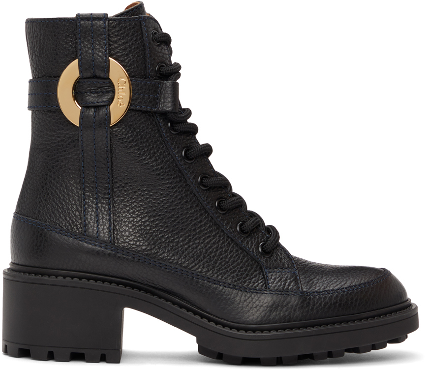 Chloé 黑色 Darryl 踝靴