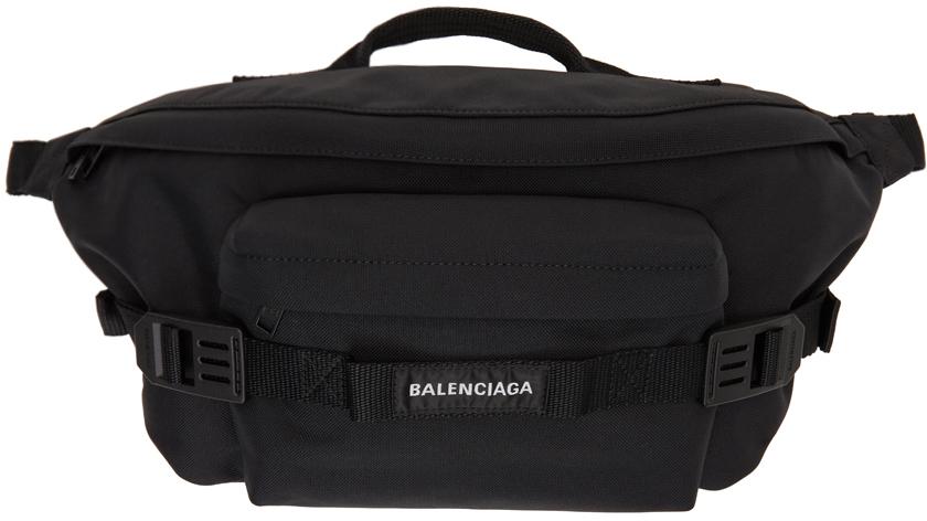 Black Army Large Belt Bag