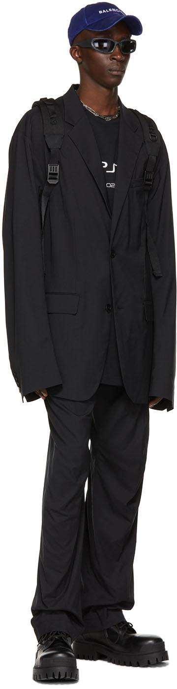Balenciaga ブラック テーラード ブレザー