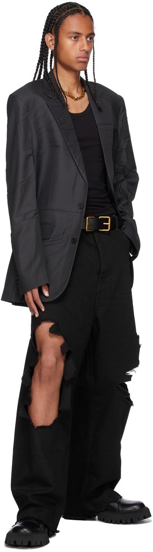 Balenciaga ブラック ブレザー