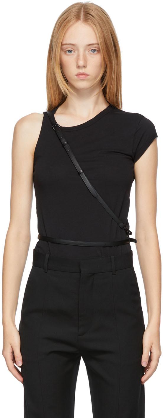 Black Layered Belt