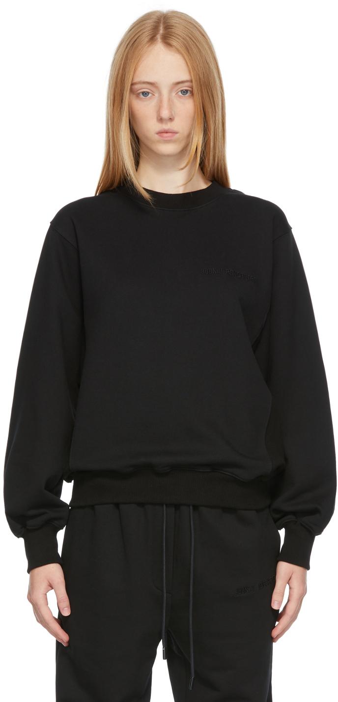Black 'Rencontre' Sweatshirt