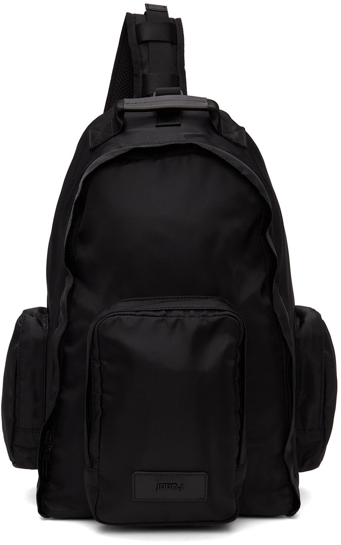 Black Sling Backpack