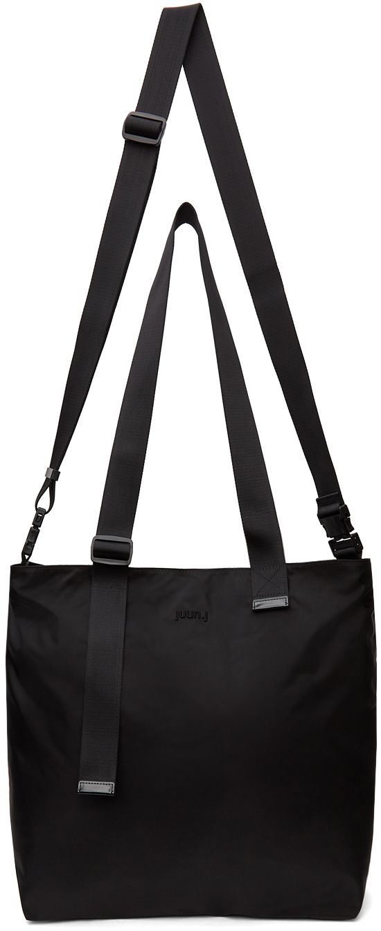 Black Two-Way Tote