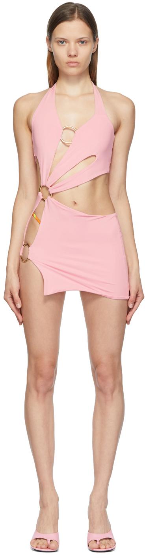 SSENSE Exclusive Pink Sex Wax Dress