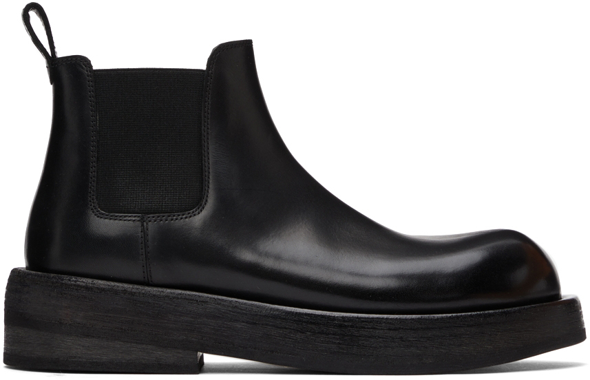 Marsèll Black Musona Chelsea Boots