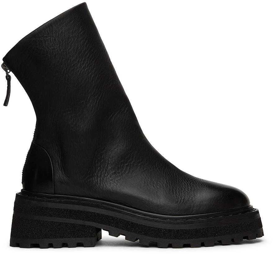 Marsèll Black Carro Zip Boots