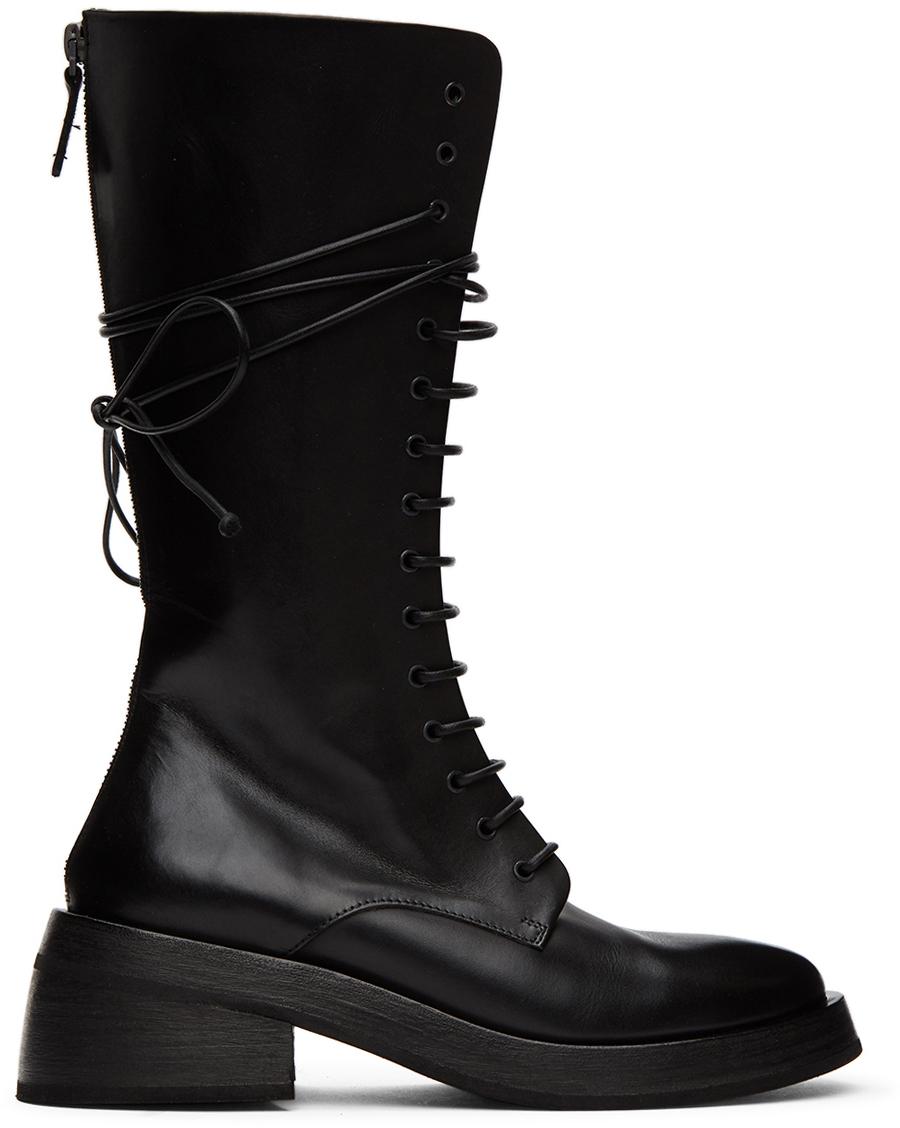 Marsèll Black Fondello Boots