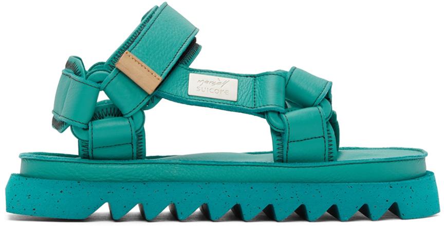 Marsèll Green Suicoke Edition DEPA MMSU01 Sandals