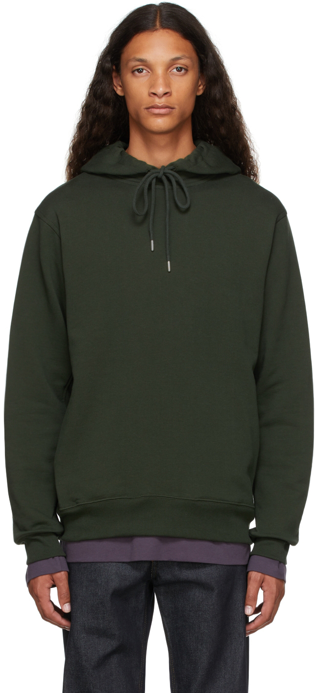 Green French Terry Hoodie