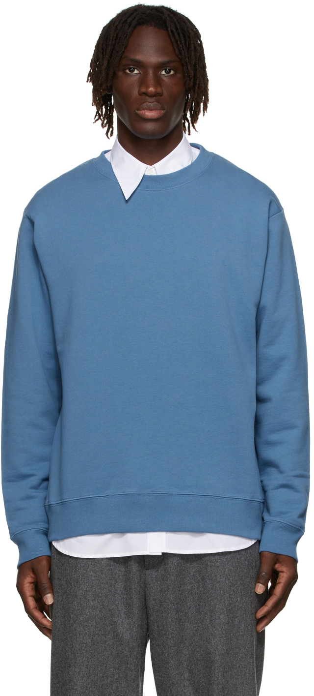 Blue French Terry Sweatshirt