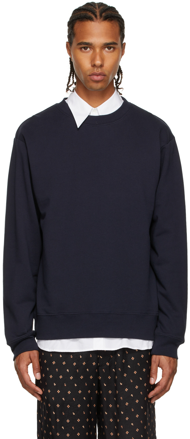 Navy French Terry Sweatshirt