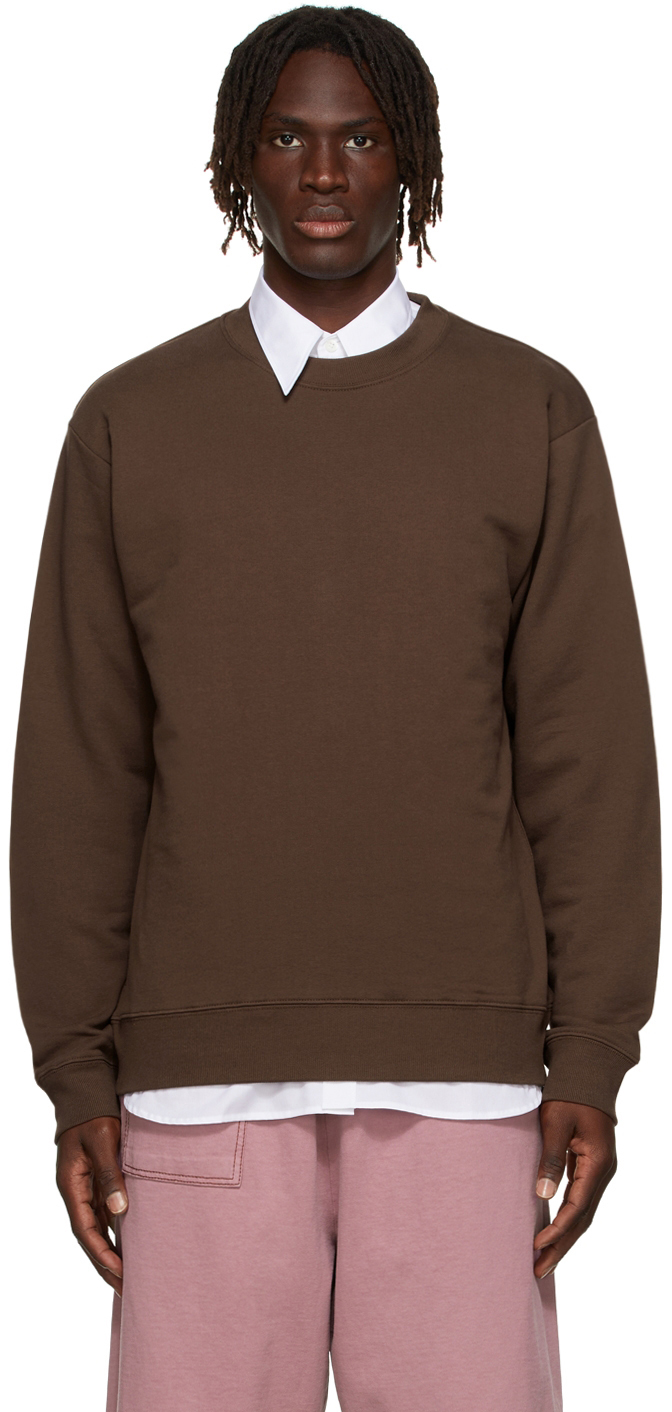Brown French Terry Sweatshirt