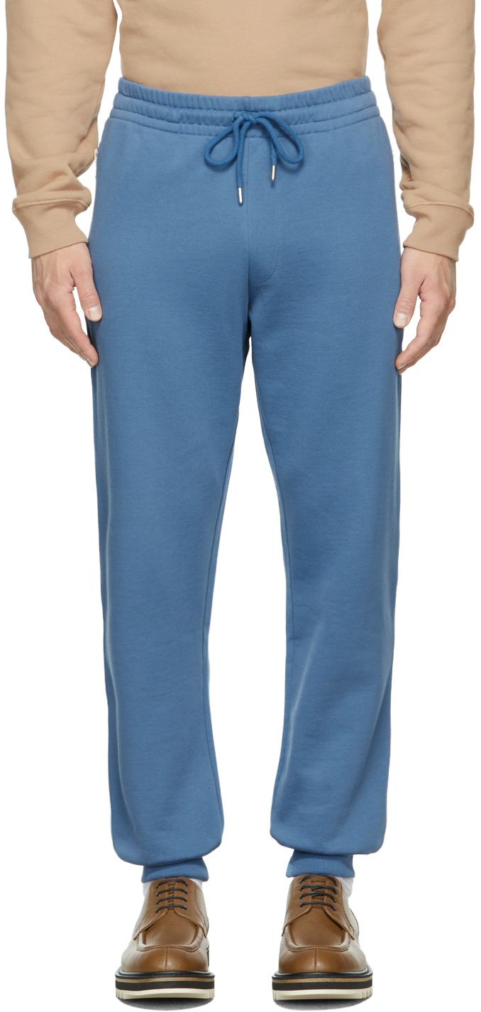 Blue French Terry Jogger Lounge Pants