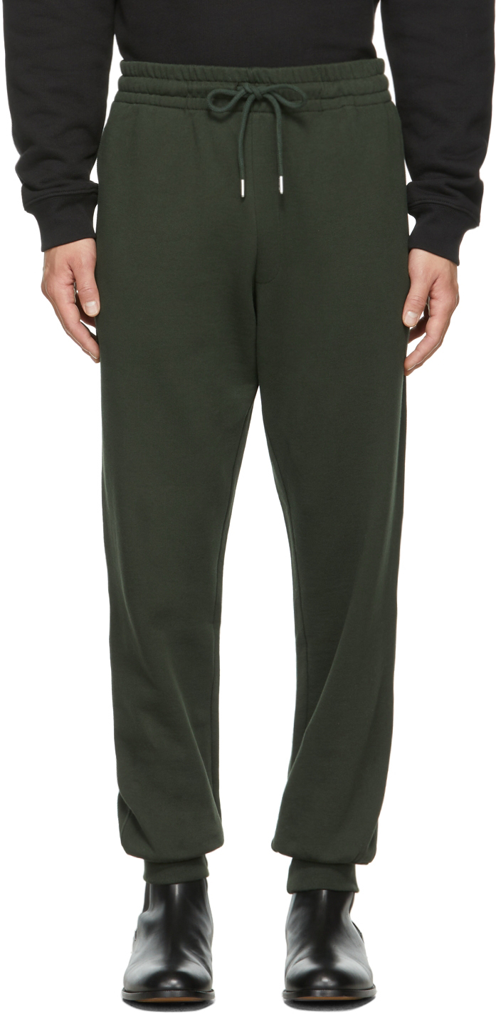 Green French Terry Jogger Lounge Pants
