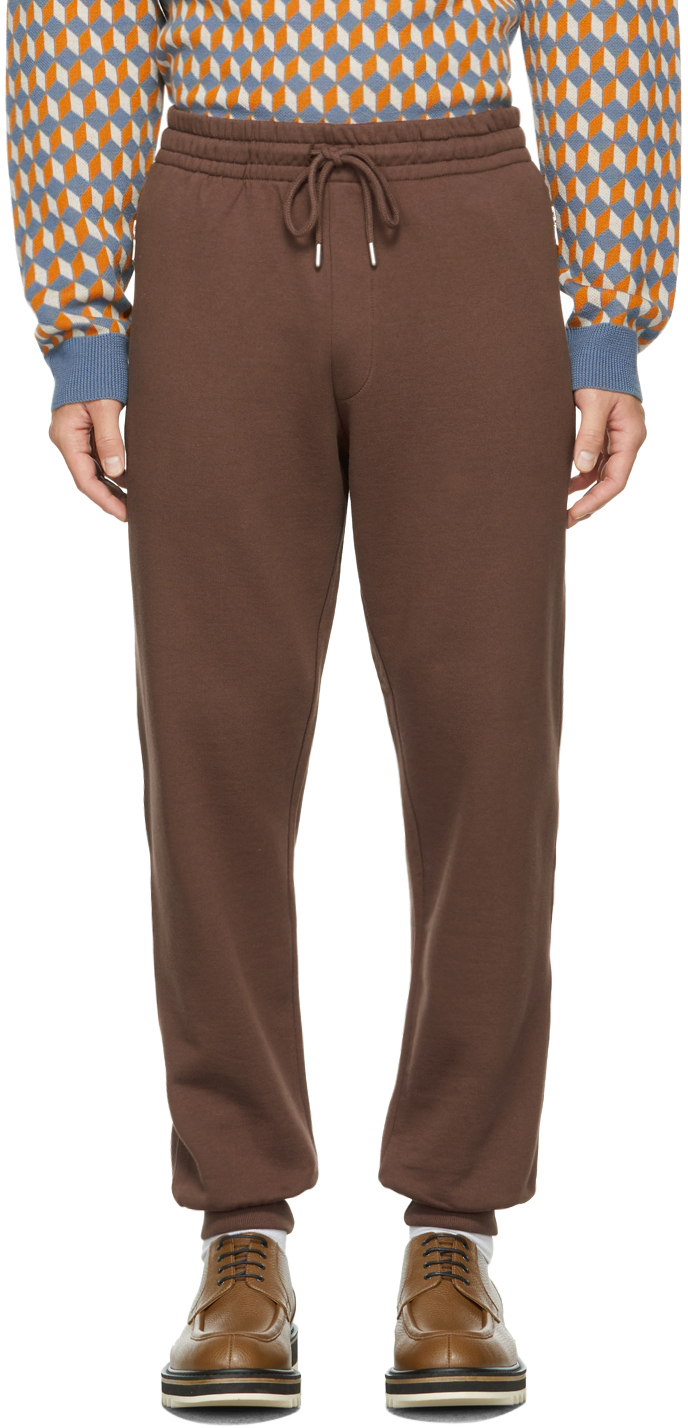 Brown French Terry Lounge Pants