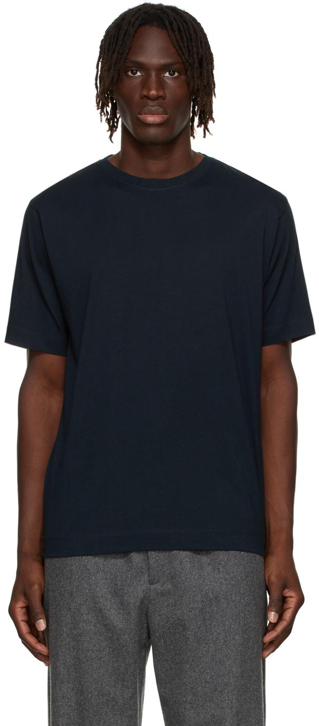 Navy Supima Cotton T-Shirt