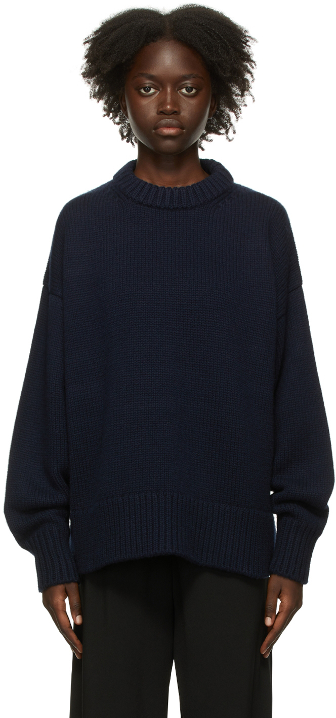 Navy Ophelia Sweater