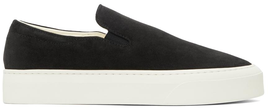 Black Marie H Slip-on Sneakers
