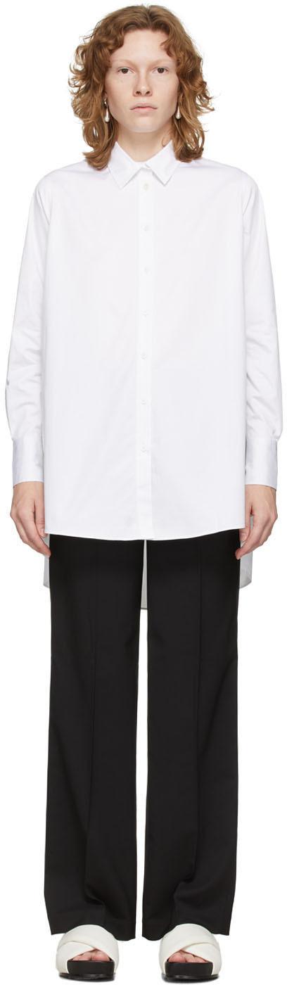 White A-Line Shirt