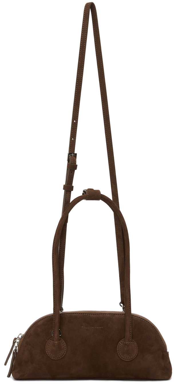 Brown Suede Bessette Bag