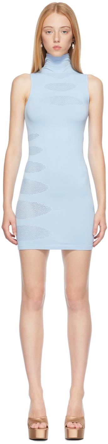 Blue Knit Prophecy Dress