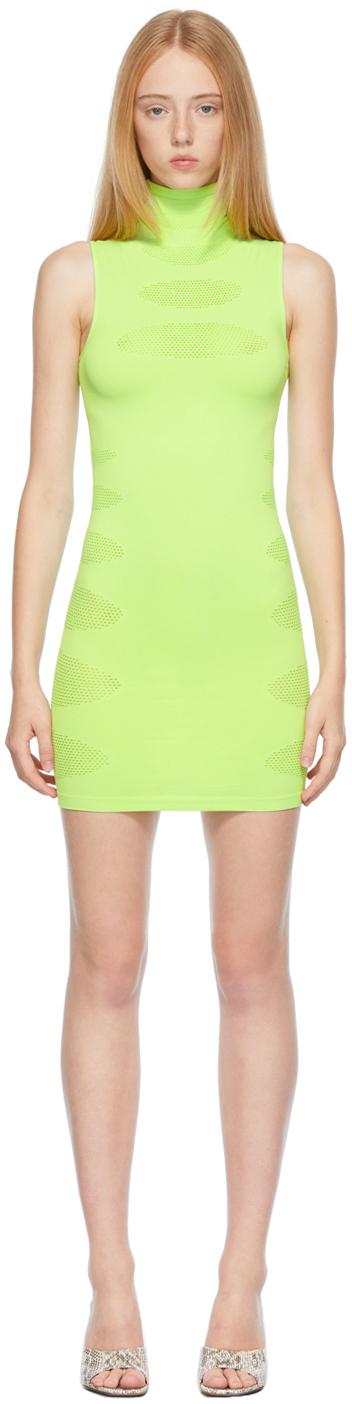 Green Knit Prophecy Dress