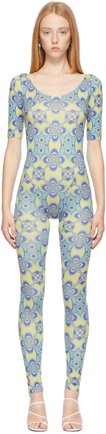 Blue Altered State Jumpsuit