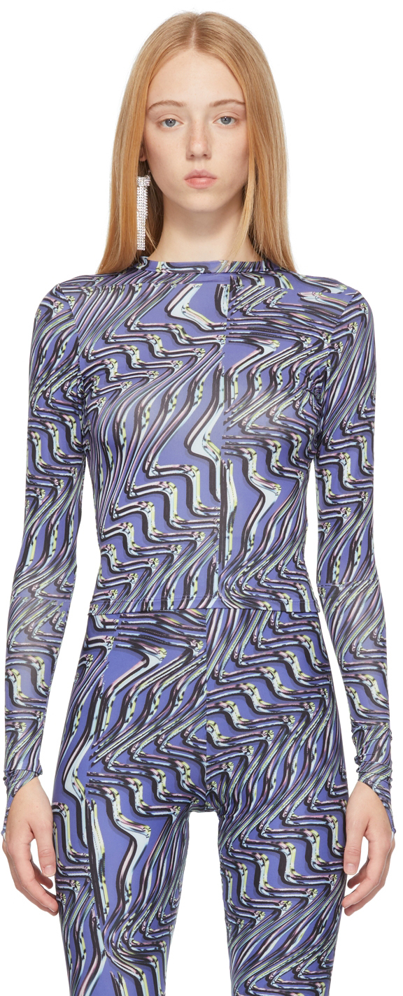 Purple Body Shop Long Sleeve T-Shirt