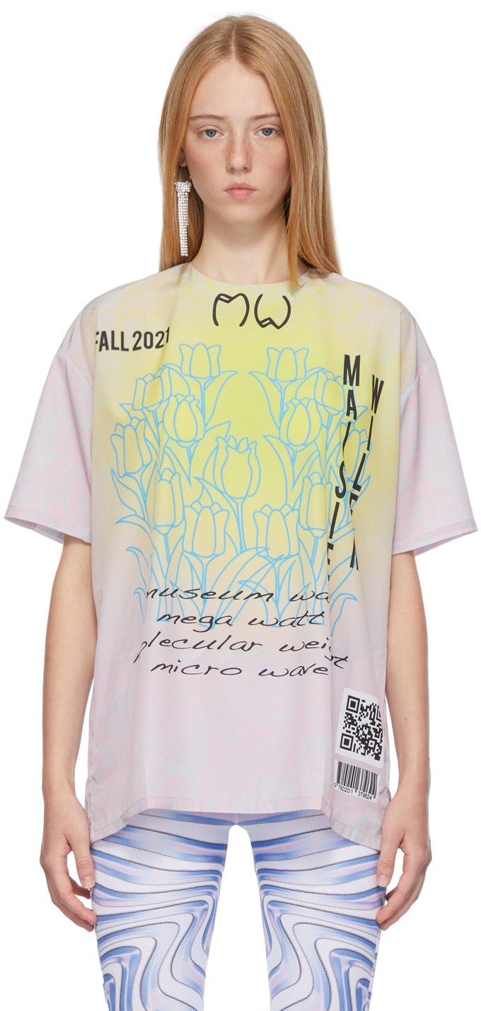 Pink & Grey Lunar T-Shirt