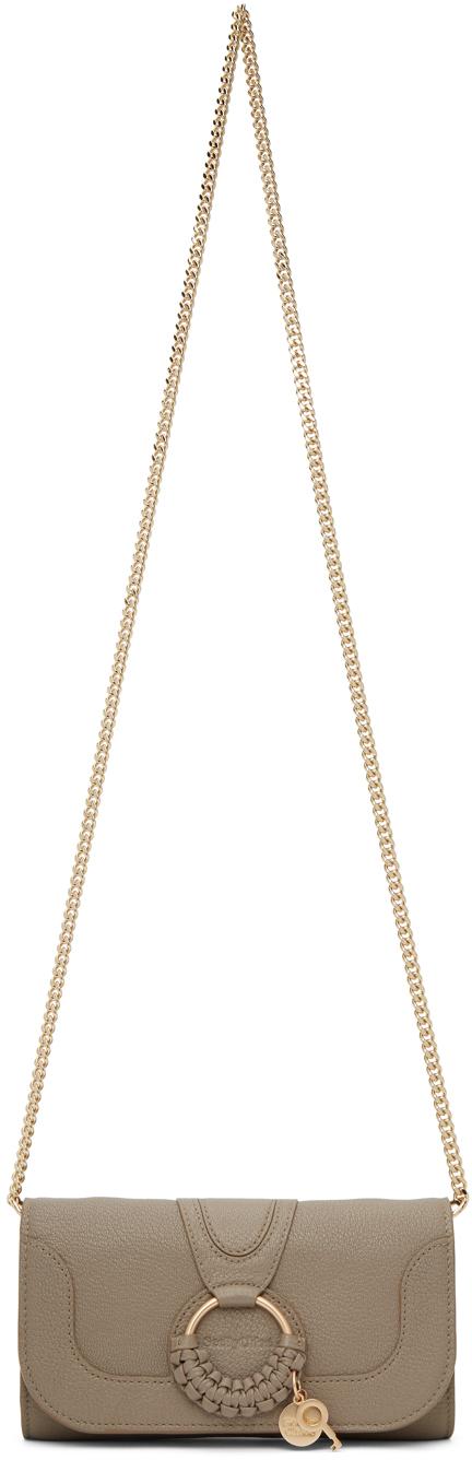See by Chloé Grey Hana Chain Wallet Bag