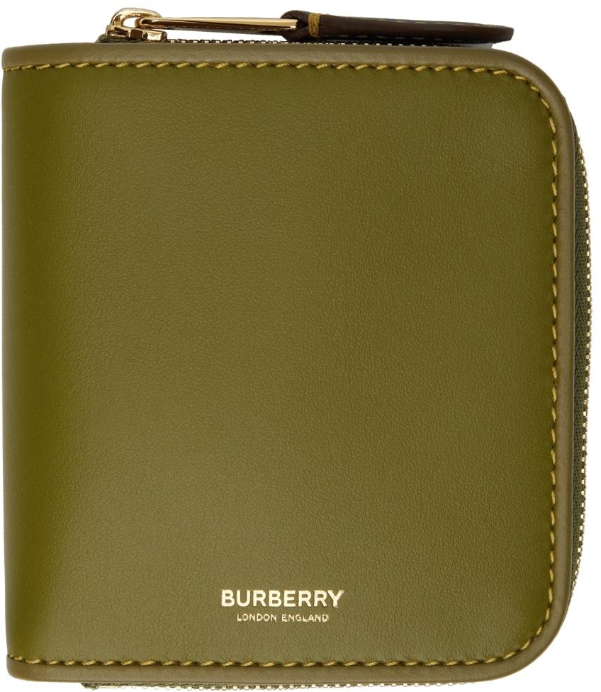 Green Allington Zip Wallet