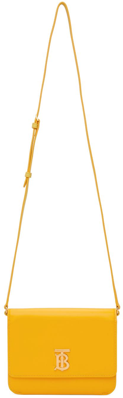 Mini Smooth TB Square Shoulder Bag