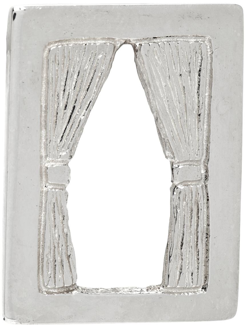 Silver 'The Window' Single Earring