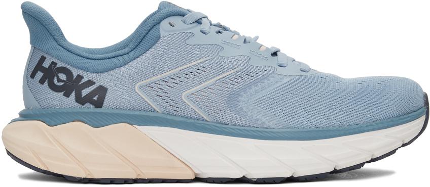Blue & Pink Arahi 5 Sneakers