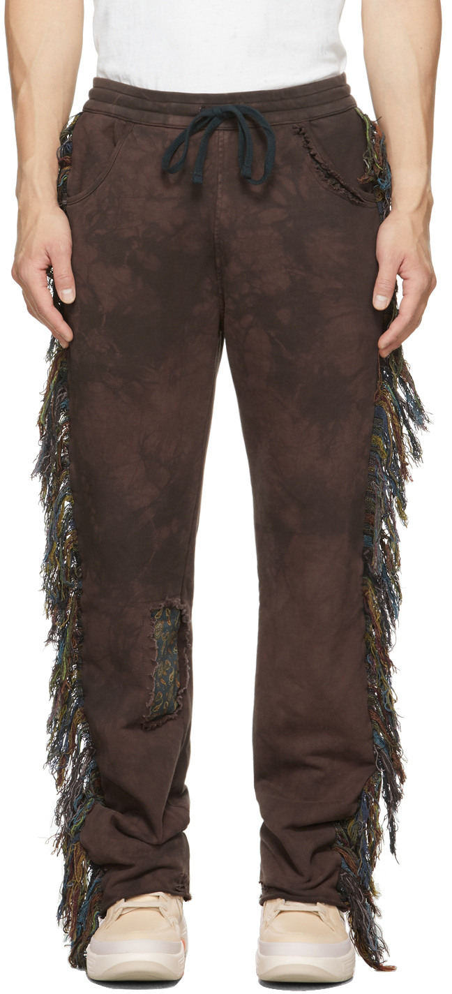 SSENSE Exclusive Brown Riders In The Sky Lounge Pants