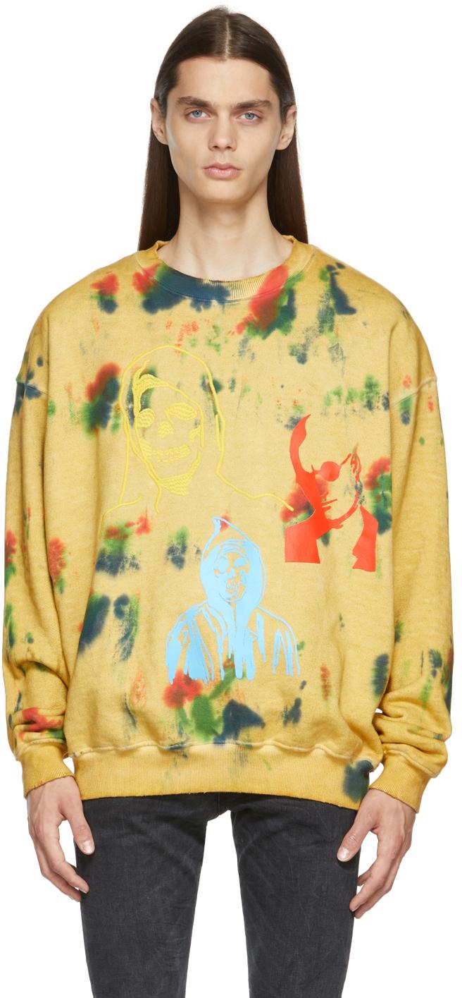 Yellow Mashup Sweatshirt