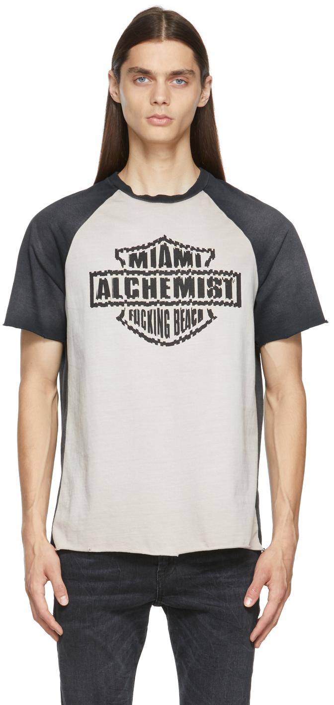 Black & Beige Lincoln T-Shirt