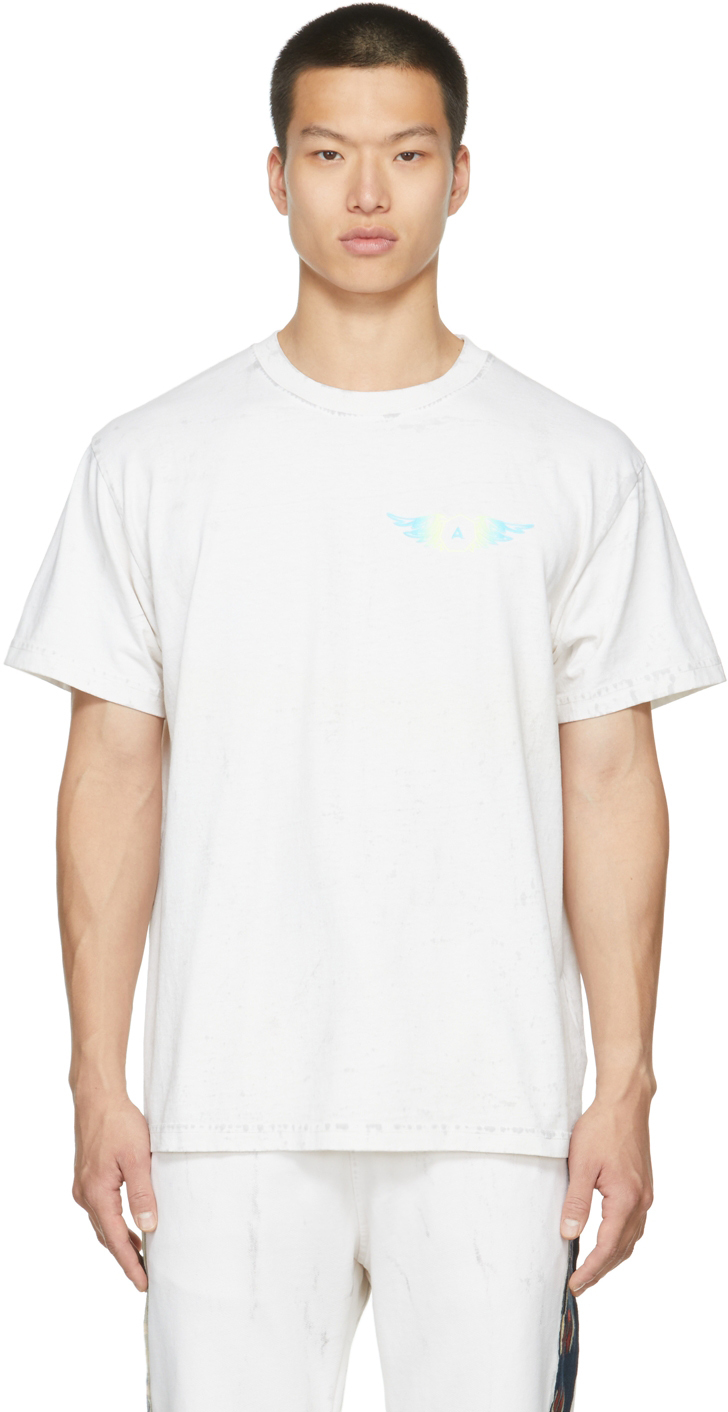 White 'Hell Or High Water' T-Shirt