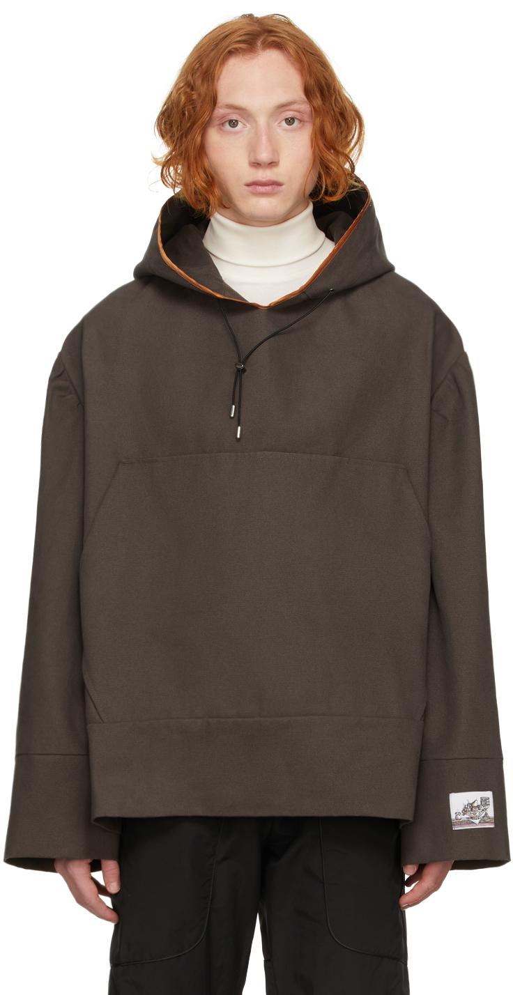 Brown Monk Hoodie