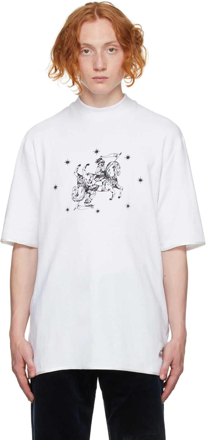 White French Terry Graphic T-Shirt