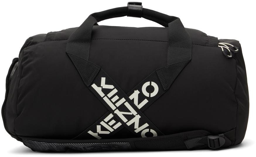Black Sport Big X Duffle Bag