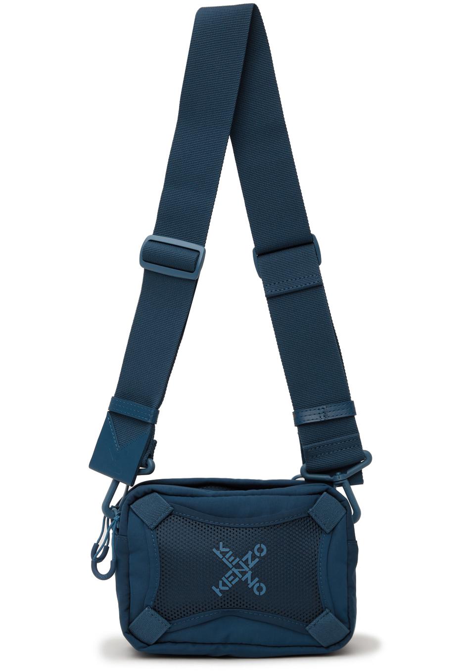Blue Sport 'Little X' Messenger Bag