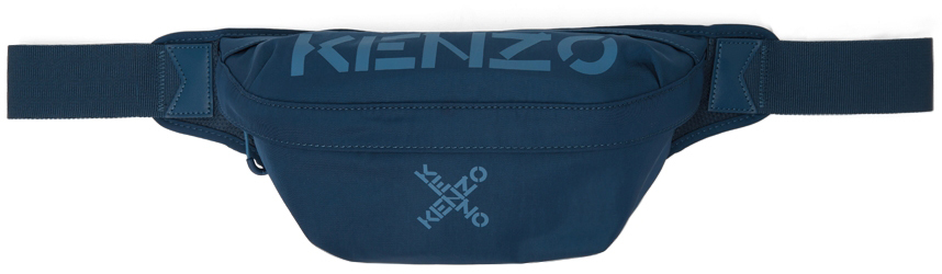 Blue Sport Belt Bag