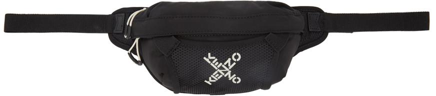 Black Mini Sport Belt Bag