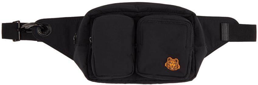 Black Tiger Crest Belt Bag
